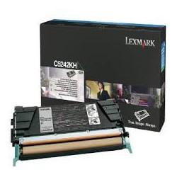 C5242KH Toner Noir 5k pour imprimante Lexmark C522/C524/C530/C532/C534