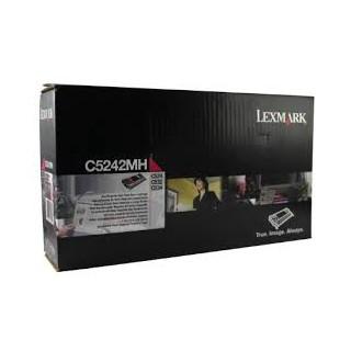 C5242MH Toner Magenta 5k pour imprimante Lexmark C522/C524/C530/C532/C534