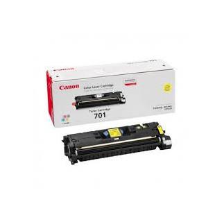 Toner Canon 701 Jaune réf. 9284A003 900g pour imprimante LBP 5200