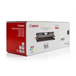 Toner Canon 701 Noir 5 000 pages réf. 9287A003 900g pour imprimante LBP 5200