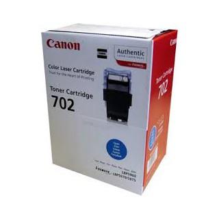Toner Canon 702 Cyan 6 000 pages réf. 9644A004 pour imprimante LBP 5970. LBP 5975. LBP 5960