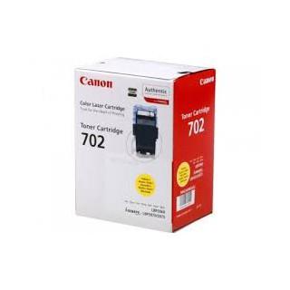 Toner Canon 702 Jaune 6 000 pages réf. 9642A004 pour imprimante LBP 5970. LBP 5975. LBP 5960