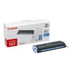 Toner Canon 707 Cyan réf. 9423A004 pour imprimante LBP 5000