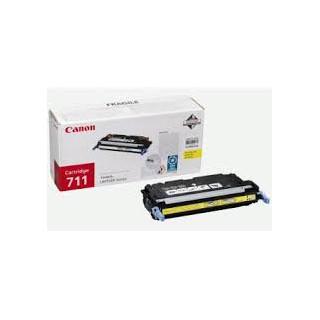Toner Canon 711 Jaune 6 000 pages réf. 1657B002 pour imprimante LBP 5300. LBP 5360. MF8450. 9130. 9170. MF9220dn. 9280cdn