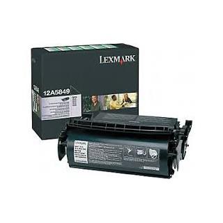 12A5840 Toner Noir pour imprimante Lexmark T610 T612 T614 T616