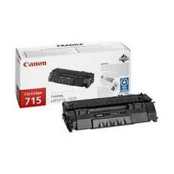 Toner Canon 715 Noir 3 000 pages réf. 1975B002 pour imprimante LBP 3310. LBP 3370