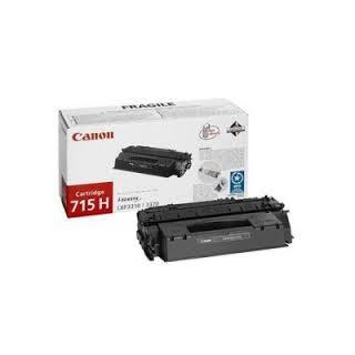 Toner Canon 715H Noir 7 000 pages réf. 1976B002 pour imprimante LBP 3310. LBP 3370