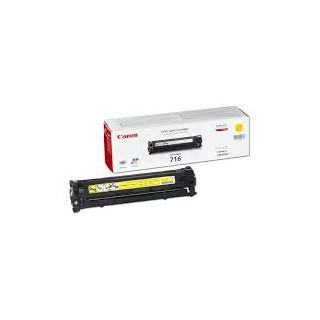 Toner Canon 716 Jaune 15 000 pages réf. 1977B002 pour imprimante LBP 5050. LBP 5050n