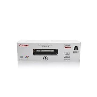 Toner Canon 716 Noir 2.3 000 pages réf. 1980B002 pour imprimante LBP 5050. LBP 5050n