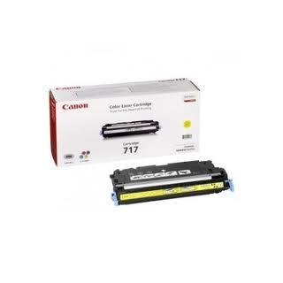 Toner Canon 717 Jaune 4 000 pages réf. 2575B002 pour imprimante MF 9170. MF 9130. MF 8450