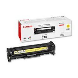 Toner Canon 718 Jaune 2 900 pages réf. 2659B002 pour imprimante LBP 7200. 7660Cdn. 7680Cx