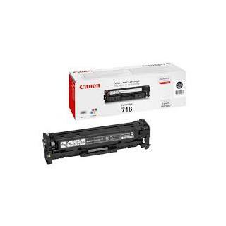 Toner Canon 718 Noir 3 400 pages réf. 2662B002 pour imprimante LBP 7200. 7660Cdn. 7680Cx