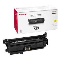 Toner Canon 723 Jaune réf. 2641B002 réf. 2641B011 pour imprimante LBP 7750
