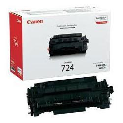 Canon Toner Noir 724 6 000 pages réf. 3481B002 pour imprimante LBP 6750dn