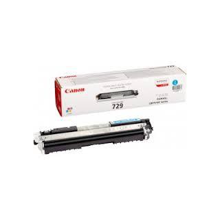 Toner Canon 729 Cyan réf. 4369B002 1 000 pages pour imprimante LBP7010C. 7018C
