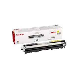 Toner Canon 729 Jaune réf. 4367B002 1 000 pages pour imprimante LBP7010C. 7018C