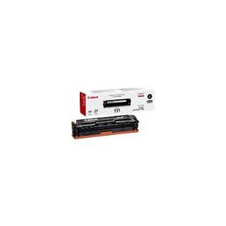 Toner Canon 731 Noir 1400 pages réf. 6272B002 pour imprimante LBP-7100CN. 7110CW