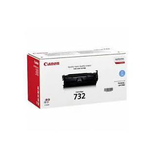 Toner Canon 732 Cyan 6400 pages réf. 6262B002 pour imprimante LBP-7780