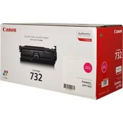 Toner Canon 732 Magenta 6400 pages réf. 6261B002 pour imprimante LBP-7780