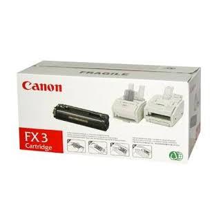 Canon Toner Noir FX-3 réf. 1557A003 4800 pages pour imprimante Fax L200.220. 240. 250. 260. 280. 290. 295. 300. 350. 360
