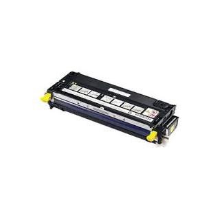 Cartouche de toner Dell 3130cn Jaune HC 9k (593-10291) pour imprimante Dell 3130cn