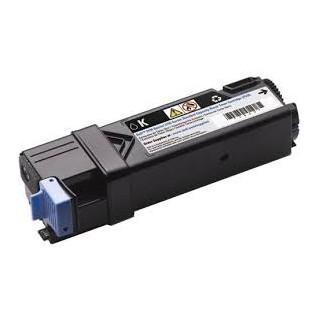 Cartouche de toner Dell 2150cn Noir LC 1,2k (2FV35) pour imprimante Dell 2150cn, 2150cdn, 2155cn, 2155cdn