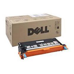 Cartouche de toner Dell 3110cn Cyan HC 8k (593-10171) pour imprimante Dell 3110cn, 3115cn