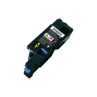 Cartouche de toner Dell 1350cnw Jaune 1,4k HC (WM2JC) pour imprimante Dell 1350cnw, 1250c, 1355, C1760, C1765