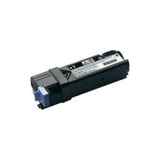 Cartouche de toner Dell 2150cn Jaune HC 2,5k (593-11037) pour imprimante Dell 2150cn, 2150cdn