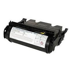Cartouche de toner Dell W5300n Return Noir Extra HC 27k (595-10006) pour imprimante Dell W5300n