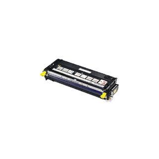 Cartouche de toner Dell 3110cn Jaune LC 4k (593-10168) pour imprimante Dell 3110cn, 3115cn