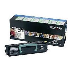 X203A11G Toner Noir pour imprimante Lexmark Optra X203n, X204n