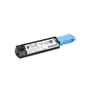 Cartouche de toner Dell 3000cn Cyan LC 2k (593-10064) pour imprimante Dell 3000cn, 3100cn