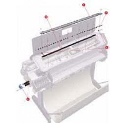 CK839-67009 Starwheel Assembly Format A0 42 pouces traceur HP Designjet T1200 T610 T770