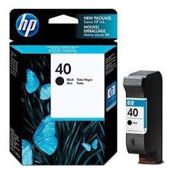51640AE Encre Noir (HP  n° 40) pour traceur HP Designjet 230 330 430