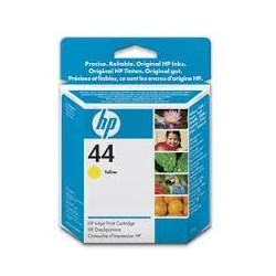 51644YE Encre Jaune (HP n° 44) pour traceur HP Designjet 230 330 430