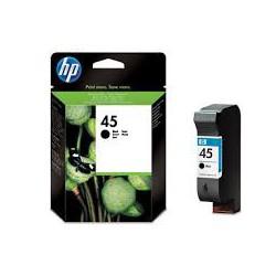 51645AE Encre Noir (HP n° 45) pour traceur HP Designjet 700 750 755