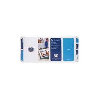 C4821A Tête d'impression 80 Cyan + nettoyeur imprimante HP Designjet 1000 Séries