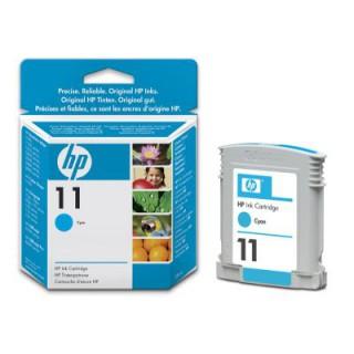 C4836AE Encre Cyan n° 11 pour imprimante et traceur HP