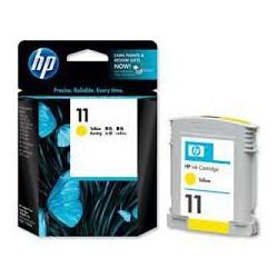 C4838AE Encre Jaune HP n° 11 imprimantes et traceurs