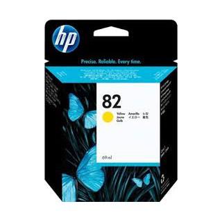 C4913A Encre imprimante HP n° 82 Jaune