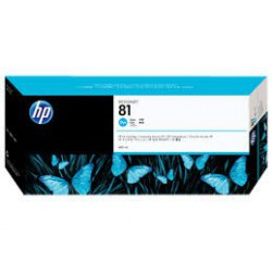 C4931 Encre Cyan (HP n° 81) pour traceur HP Designjet 5000 5500
