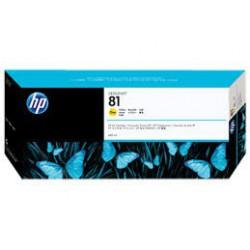 C4933A Encre Jaune (HP n° 81) pour traceur HP Designjet 5000 5500