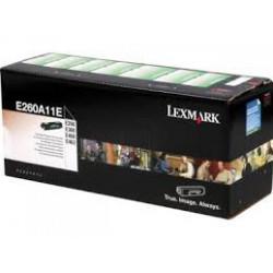 E260A11E Toner Noir pour imprimante Lexmark E460, E462, E260, E360