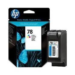 C6578DE Encre  3 Couleurs (Cyan, Jaune, Magenta) pour imprimante HP Photosmart, Deskjet et Fax