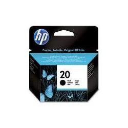 C6614DE Encre Noir (HP n° 20) pour imprimante HP Apollo, Deskjet et Fax