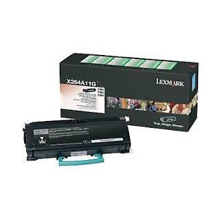 X264A11G Toner Noir pour imprimante Lexmark X264, X363, X364