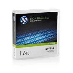 C7974A Cartouche de Sauvegarde HP LTO4 Ultrium 800GB / 1.6TB