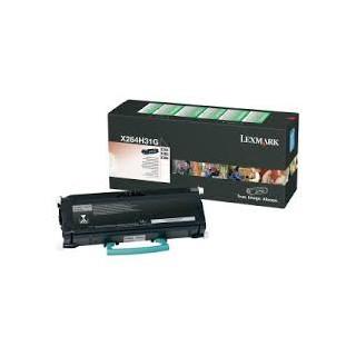X264H31G Toner Noir pour imprimante Lexmark X264dn, X360, X363dn, X364dn
