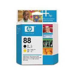 C9381A Tête d'impression Jaune + Noir (HP n° 88) imprimante HP Officejet